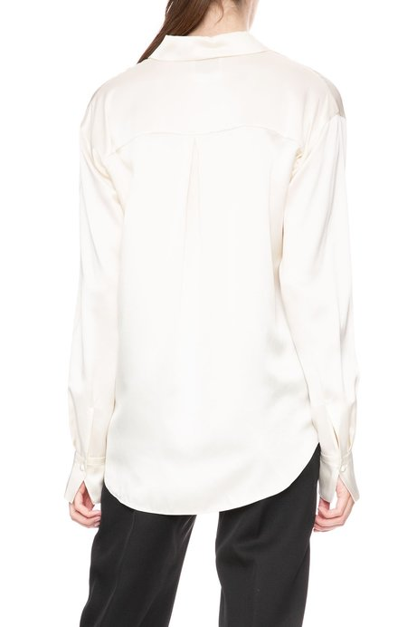 Forte Forte Oversized Silk Shirt