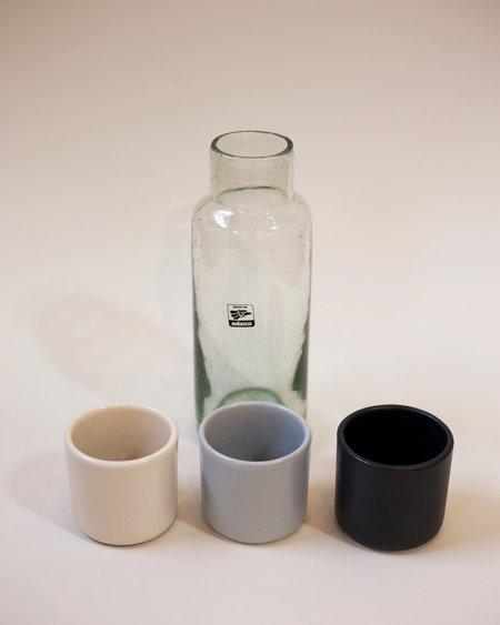 Lagos del Mundo Glass Carafe and Cup