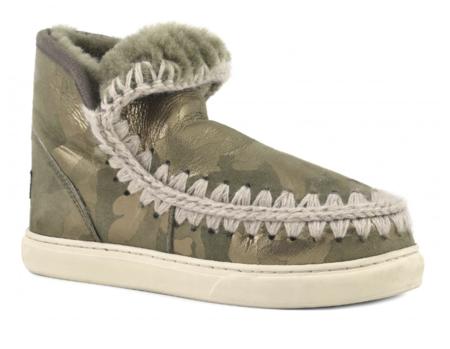 Mou Mini Eskimo Sneaker - Gold Camo