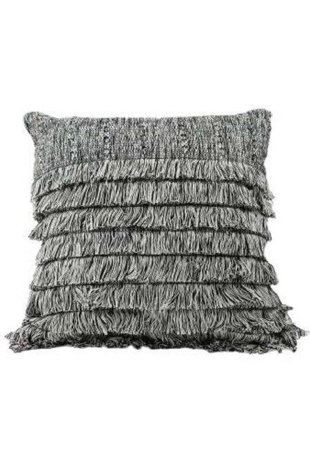 Del Palomar Tepeu Fringe Pillow