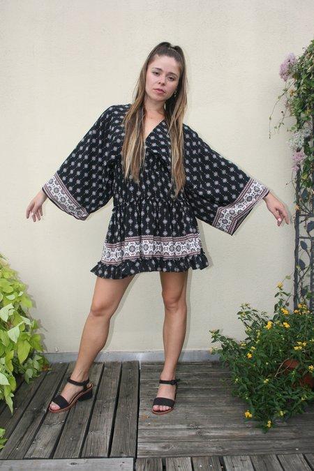 MISA Nely Dress - Paisley Print