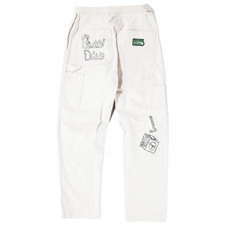 Brain Dead Matt Locke Carpenter Pant - Natural Canvas
