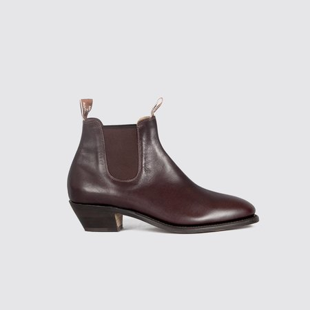 R.M. Williams Adelaide Cuban Heel - Chestnut