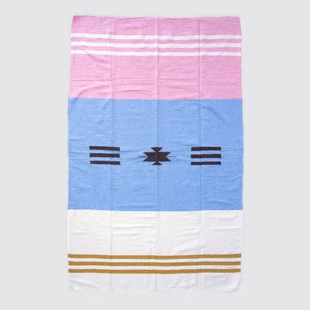 Nipomo Roll Mexican Blanket - Brisa