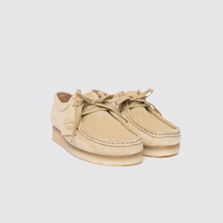 Clarks Originals Suede Wallabee Oxford - Maple