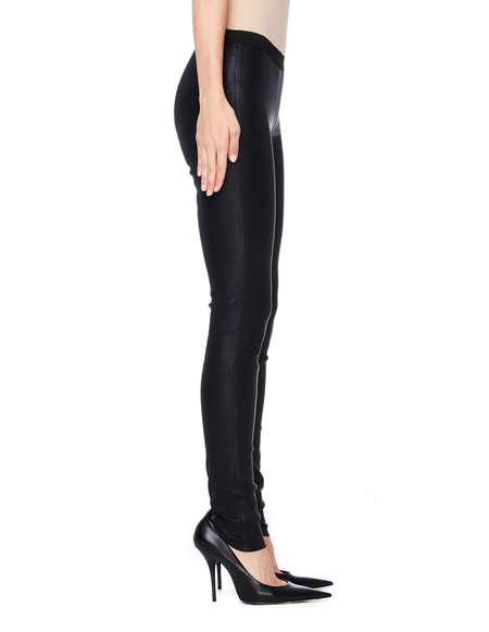 A.F.Vandevorst Leather Primer Leggings - Black