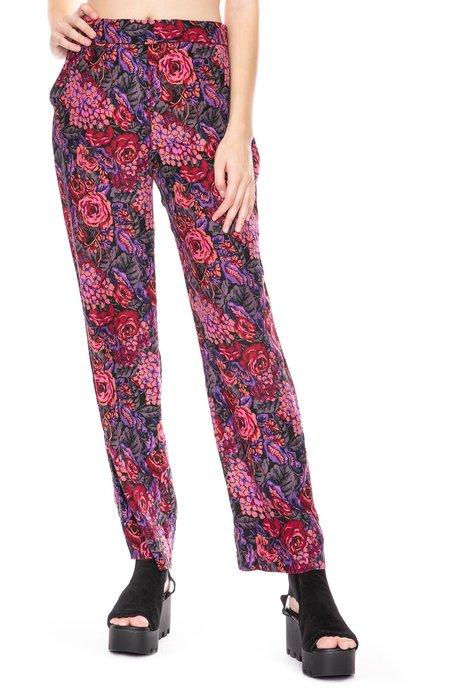 Amanda Bond Hannah Silk Pant - Floral Print