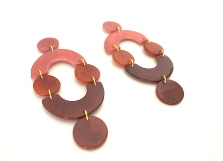 SHICATO Dejan Earrings - Plum