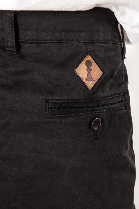 Pedestrian Carrot Pant - Black