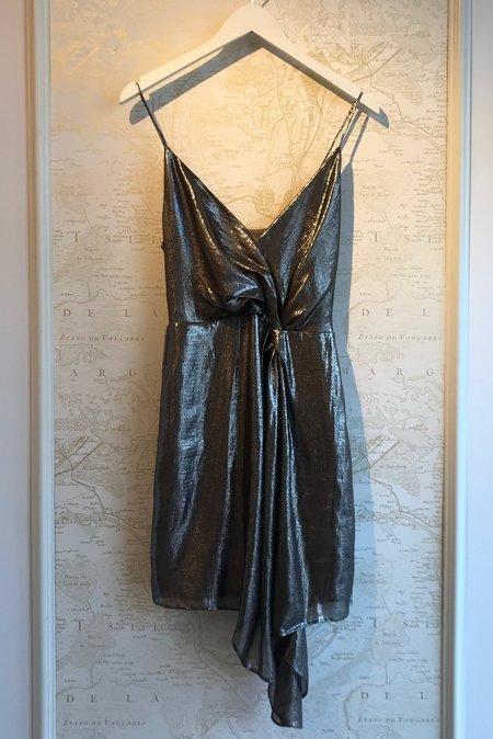 Cami NYC Tori Lame Dress - Metallic