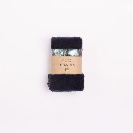 Toasties Fingerless Mittens - Metallic Rainbow