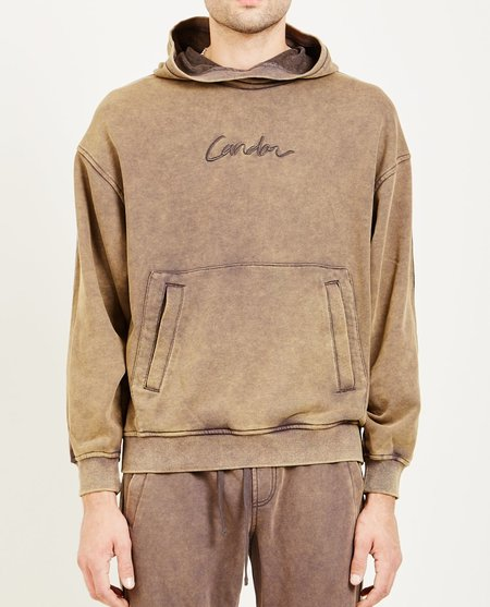 Candor PULLOVER HOODIE - CHARCOAL