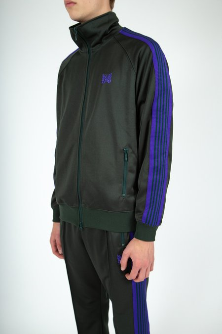 Needles Poly Smooth Track Jacket - Green