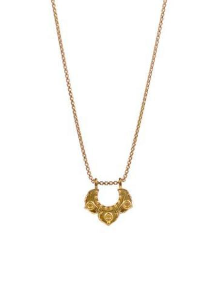 Lulu Designs Small Asana Diamond Necklace