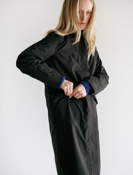 Norse Projects Thorfrid Gortex Coat - Black