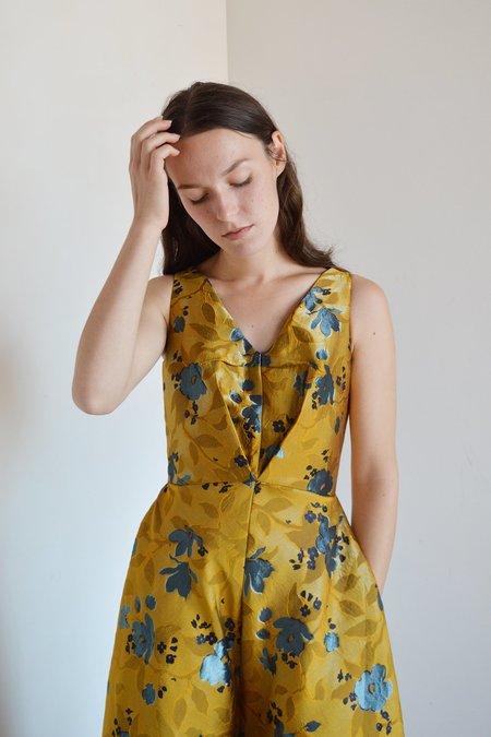 Eliza Faulkner Sonja Dress - Gold Floral
