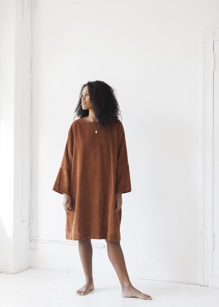Sugar Candy Mountain Monique Dress - Burnt Sienna