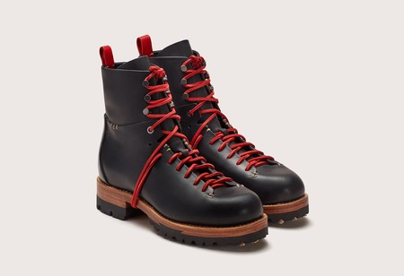 FEIT Bamboo Military Hiker - Black/Red