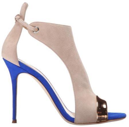 Giuseppe Zanotti Cam Pallido Sandal - Beige-Blue