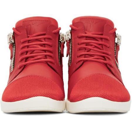 Giuseppe Zanotti Megatron Sneakers - Red