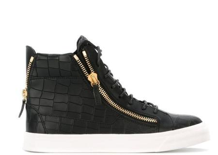 Giuseppe Zanotti Nicki High-Top Sneaker - Black
