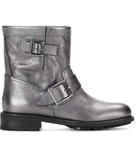 Jimmy Choo Youth Ankle Boot - Anthracite