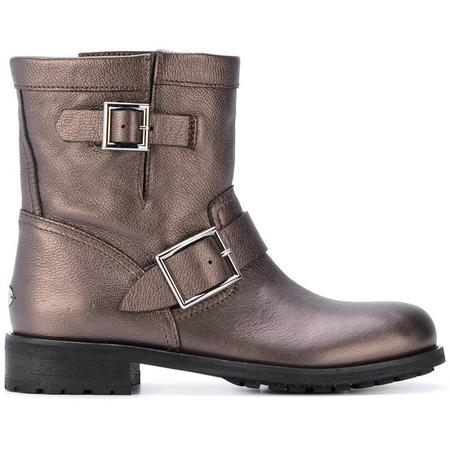 Jimmy Choo Youth Ankle Boot - Bronze