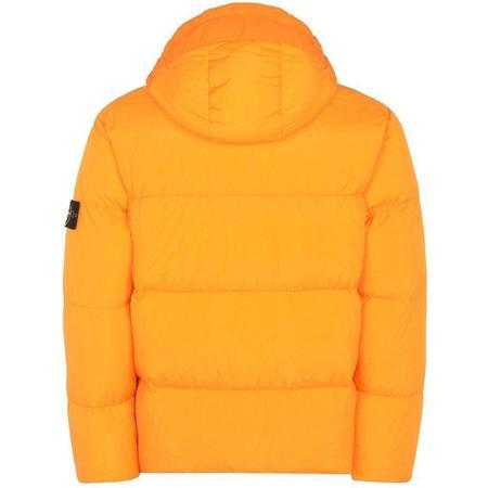 Stone Island Real Down Blouse Jacket - Orange