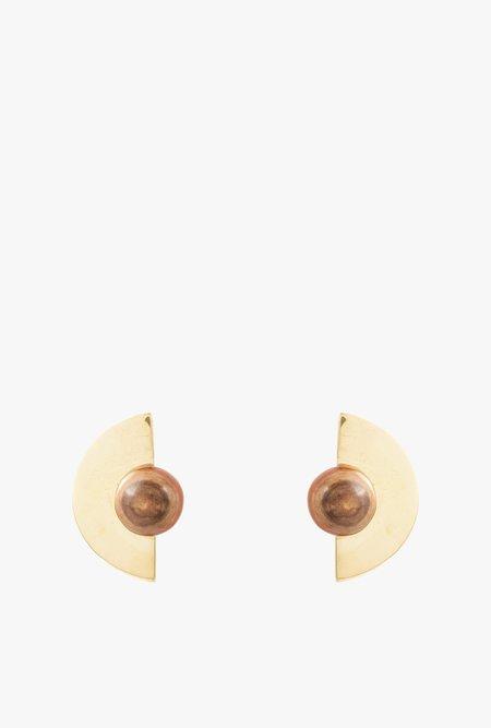 SOKO Nusu Horn Stud Earrings