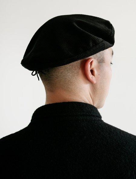 Engineered Garments Corduroy Beret - Black