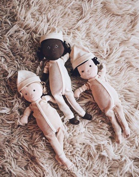Kids Hazel Village X Noble Organic Nell Doll - Cream
