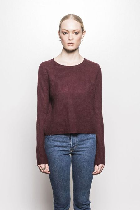 Line Maggie Sweater - Burgundy