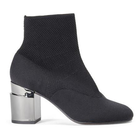 Robert Clergerie Keane Stretch Sock Ankle Boot - Black
