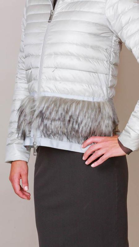 SOSKEN Lightweight Puffer Jacket - Grey