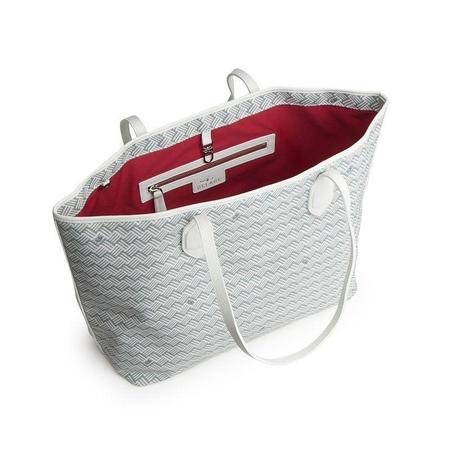 Delage Medium Tote Bag - Blanc/Blanc