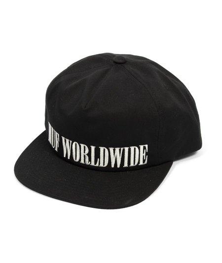 HUF Serif Snapback Hat - Black