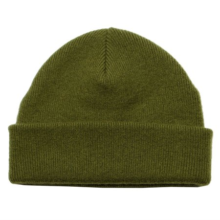 cableami Cashmere Double Beanie - Olive