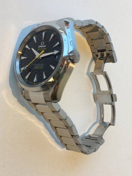 Omega Pre Owned Seamaster James Bond 007 Aqua Terra 150M Limited Edition