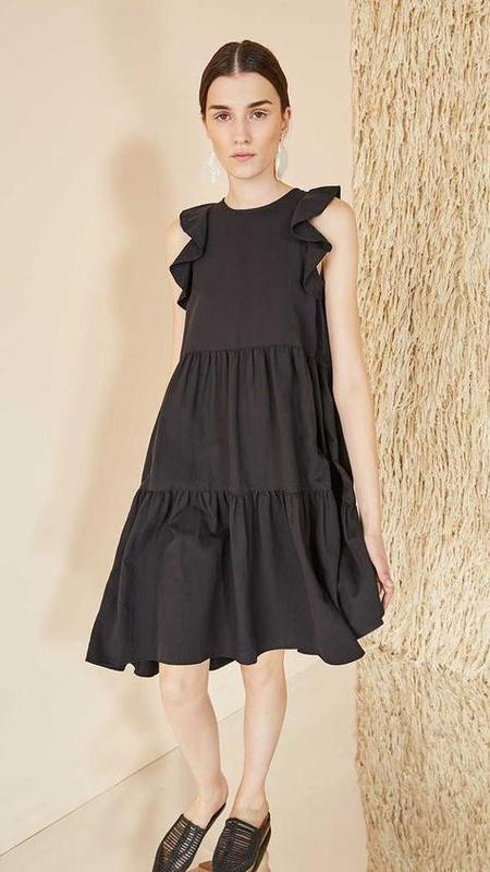 Ulla Johnson Sienna Dress - Jet Black