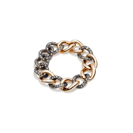 Pomellato Tango Bracelet - Rose Gold/Brown Diamond
