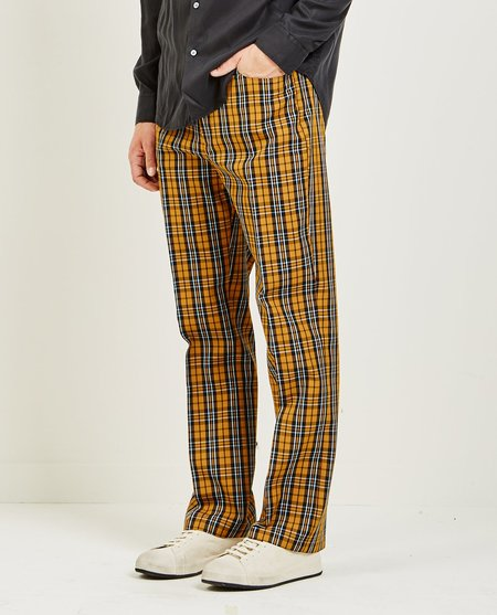 Hope RIC TROUSER - DARK BEIGE CHECK