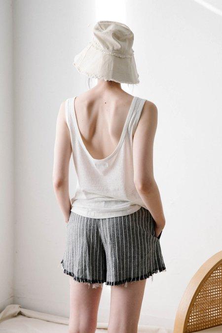 Marle Charlotte Short - Black Stripe