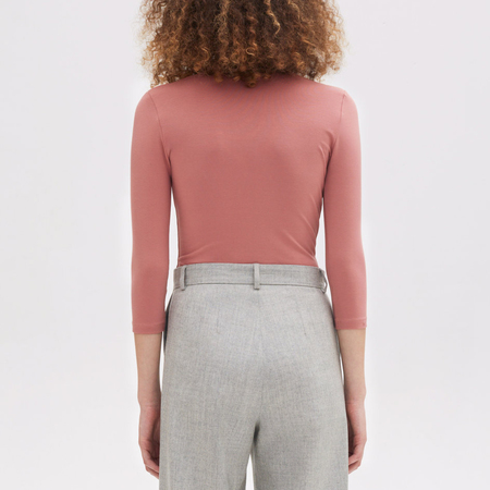 Rodebjer Louise Bodysuit - Mauve Pink