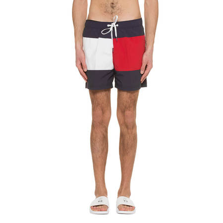 TOMMY JEANS Swimshorts - Blue/Red/White