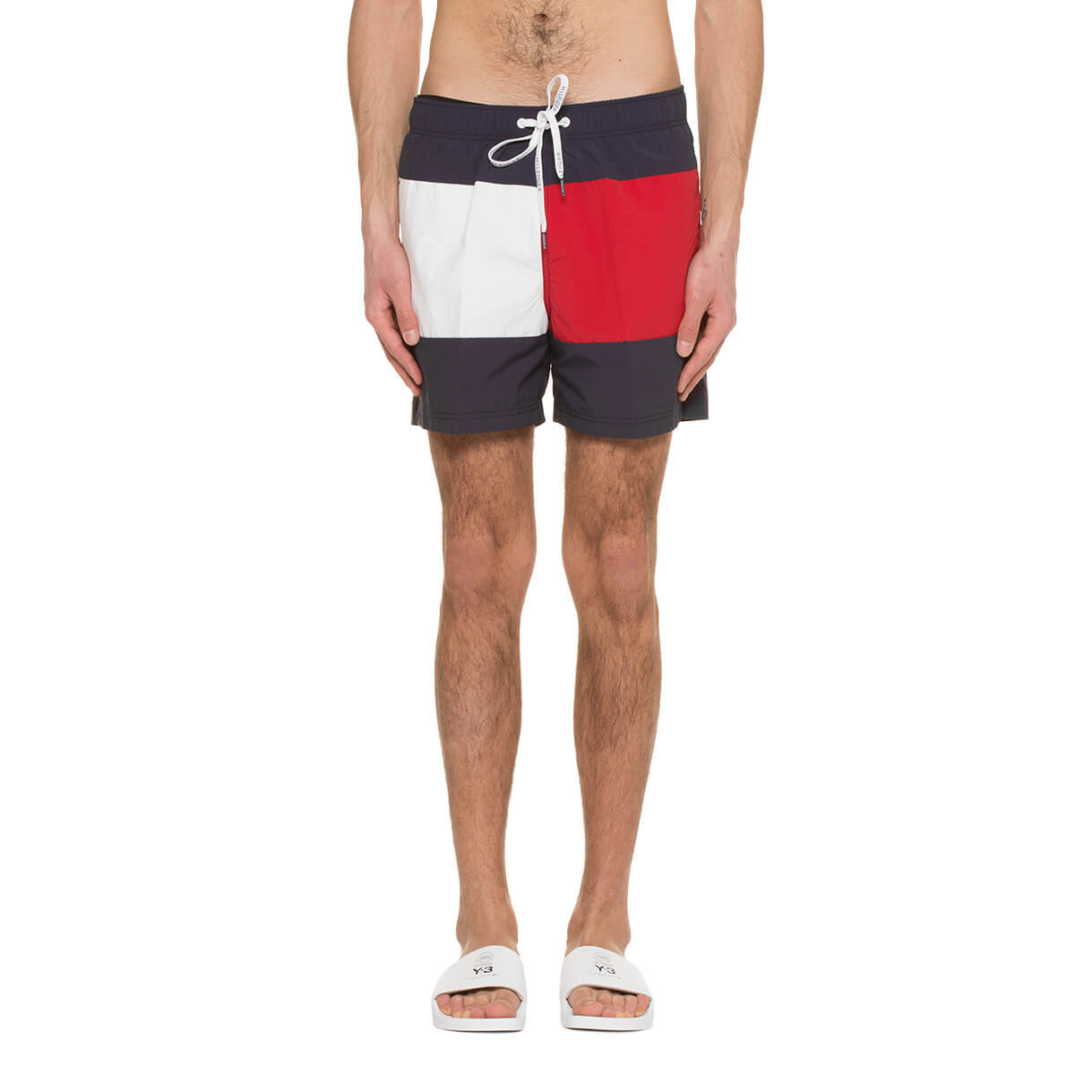 a7e7138003 TOMMY JEANS Swimshorts - Blue/Red/White | Garmentory