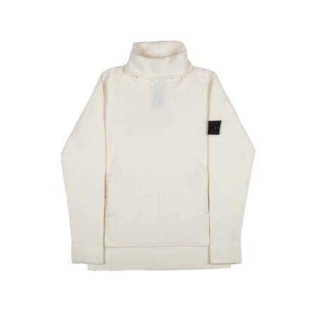 STONE ISLAND SHADOW PROJECT High Neck Jumper - White