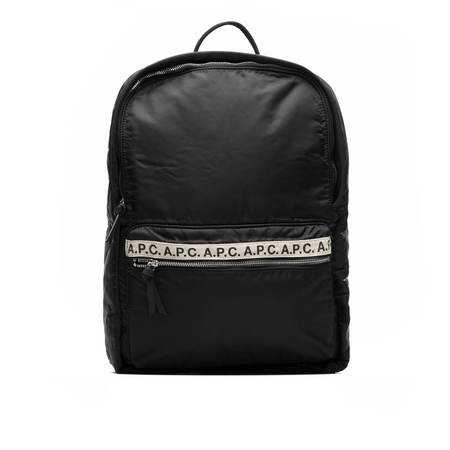 A.P.C. Logo Backpack - Black