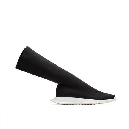 RICK OWENS DRKSHDW Runner Stretch Sock Boot - Black