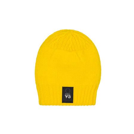 Y-3 Knit Beanie Men - Yellow