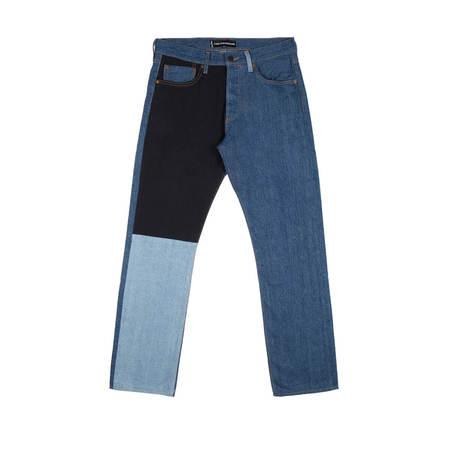 Gosha Rubchinskiy x Levi's Patchwork Jeans - NAVY